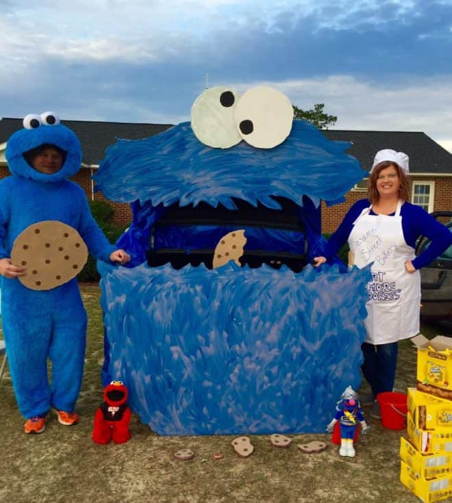 Cookie Monster - Top Five Trunk or Treat Ideas