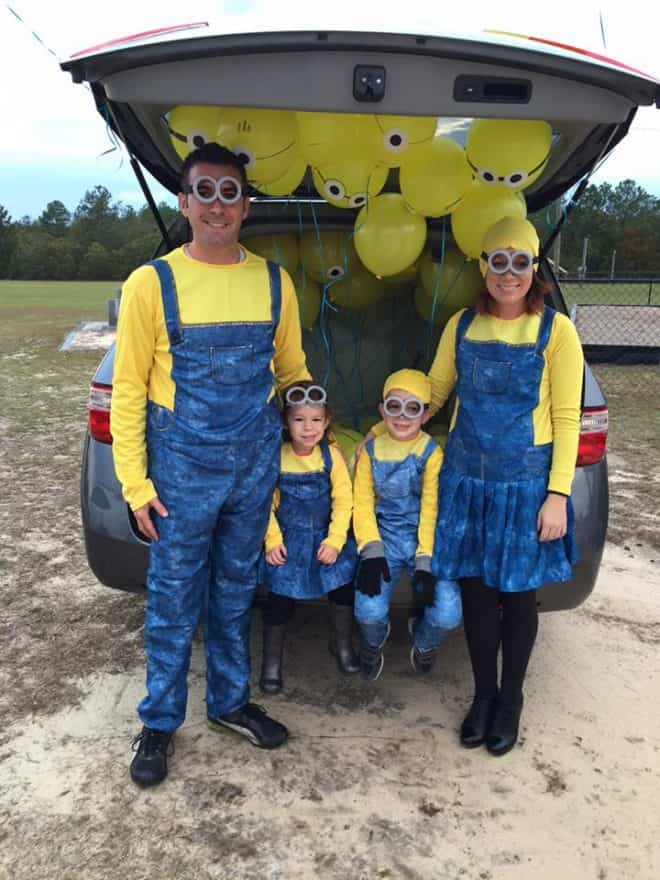 Minions - Trunk or Treat Ideas