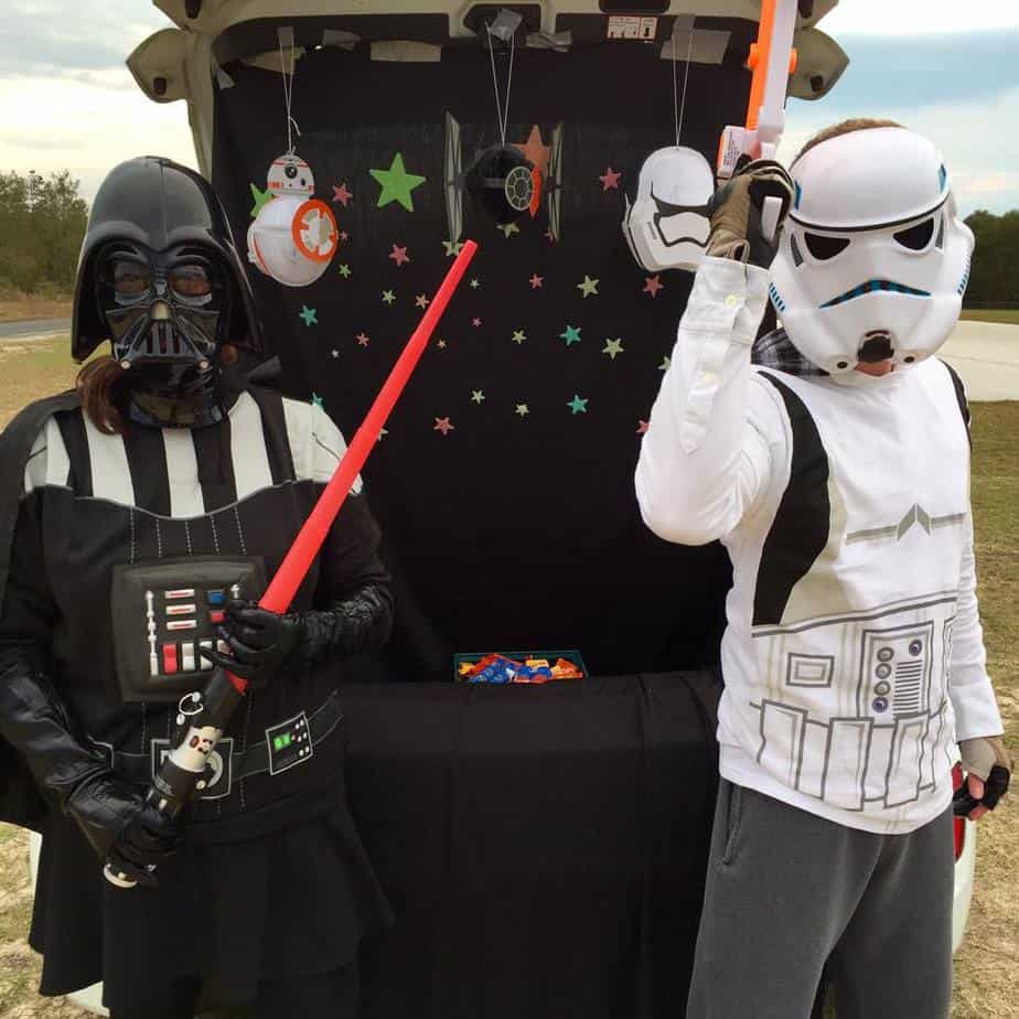 Star Wars - Trunk or Treat Ideas