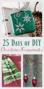 25 Days of DIY Christmas Ornaments
