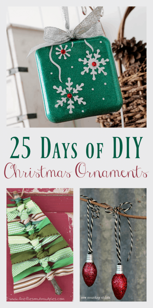 25 Days of DIY Christmas Ornaments