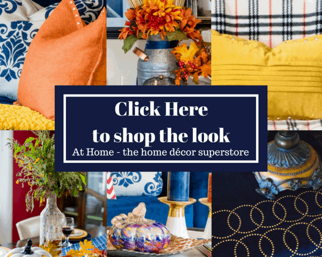 Shop the Look - Fall Home Tour