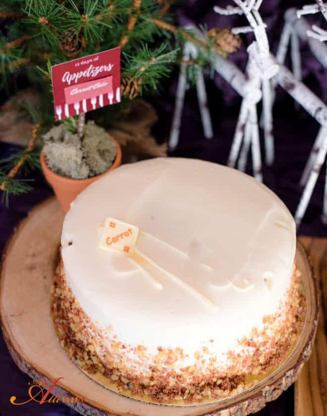 12 Days of Appetizers - Carrot Cake