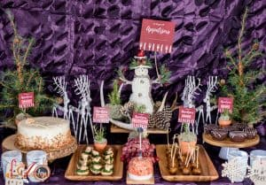 Woodland Themed Holiday Party - 12 Days of Appetizers
