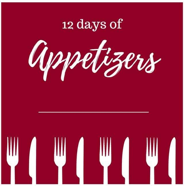 Table Sign - 12 Days of Appetizers