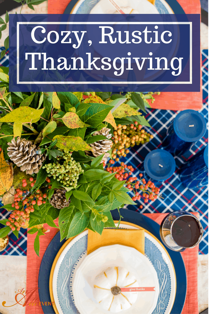 Itu0027s easy to set a cozy rustic Thanksgiving table. I decorated my entire table & How to Set a Cozy Rustic Thanksgiving Table - An Alli Event