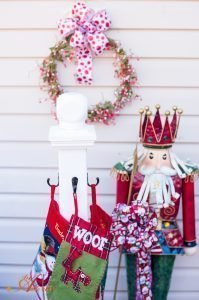 DIY Holiday Stocking Holder
