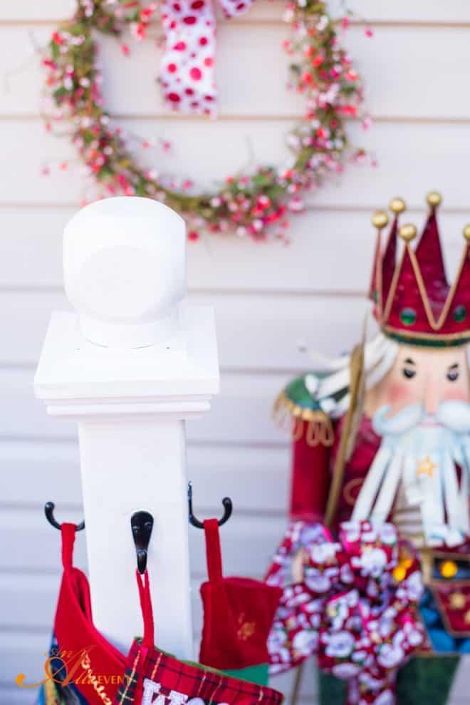 DIY Holiday Stocking Holder
