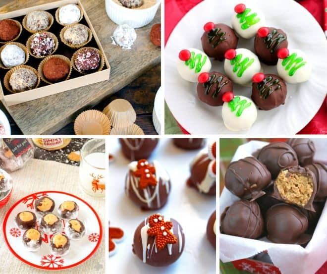 20 Delicious and Festive Christmas Balls and Truffles   An Alli Event