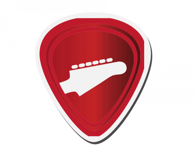 guitar pick - stocking stuffers