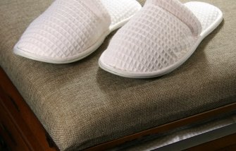 Waffle Slippers - A great gift for Christmas