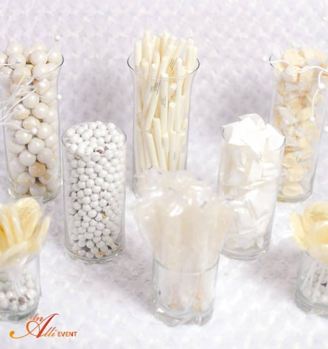 White Candy Bar for New Year's Eve