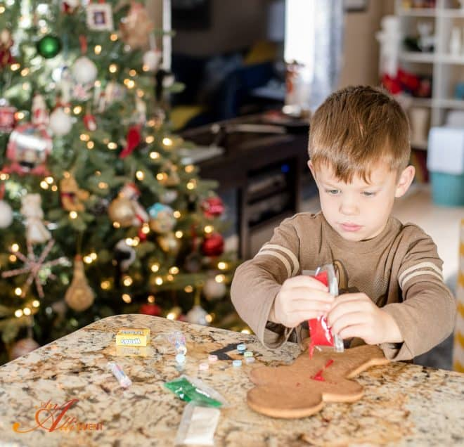 Gingerbread Boy Decorating Party - An Alli Event