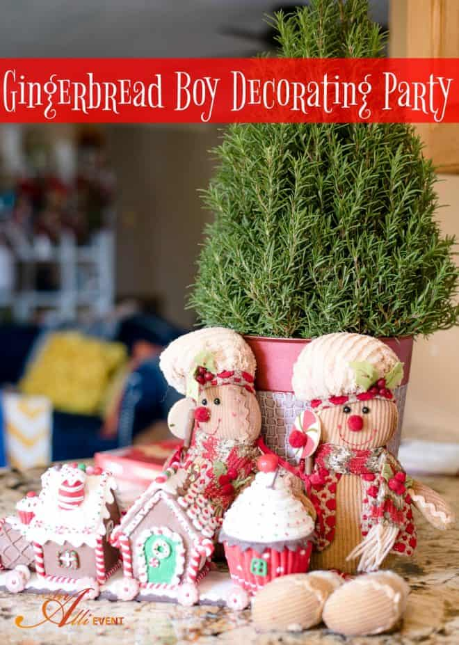 Gingerbread Boy Decorating Party