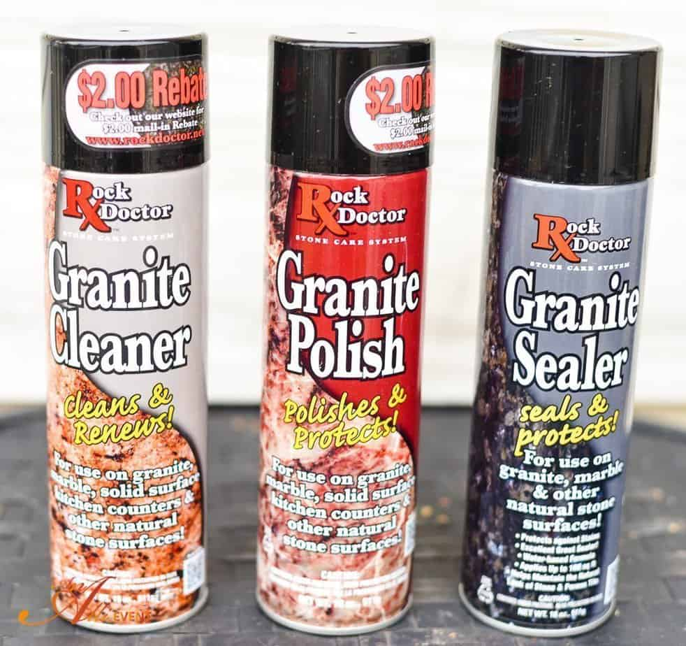 How to Clean, Polish and Seal Granite Countertops - An Alli Event