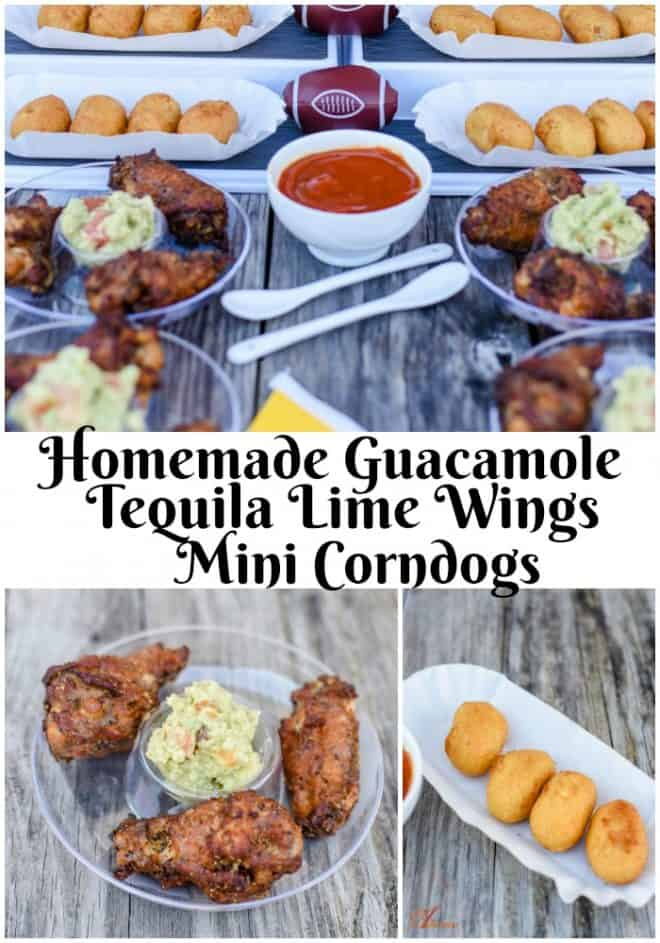 Want to throw the best party in town? My homemade guacamole pairs perfectly with Tequila Lime Wings. Try my easy BBQ sauce to go with mini corn dogs. It's a party in your mouth.