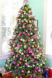 Holiday Decorations - Sunroom