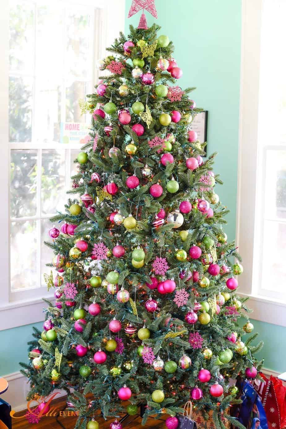 Beautiful Christmas Tree Decorating Ideas An Alli Event
