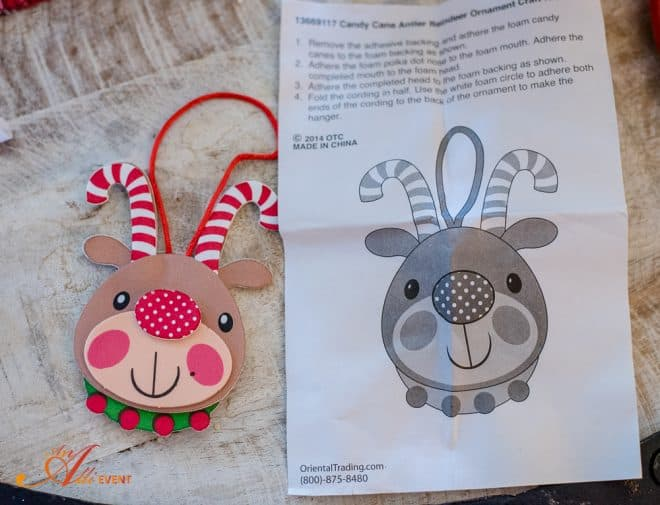 Ta-Da - Reindeer Craft Party