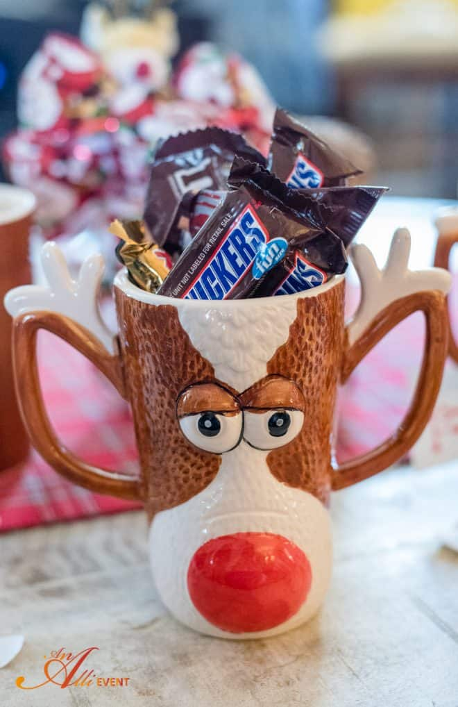 Reindeer Craft Party - Reindeer Mug