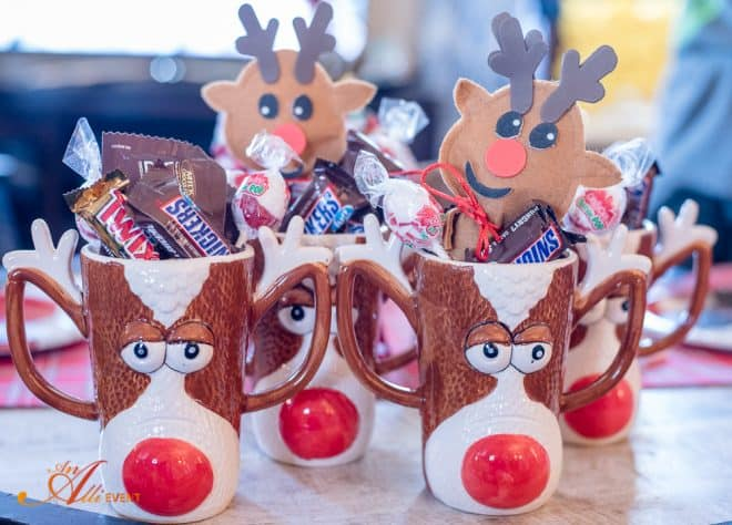 Reindeer Mugs - Reindeer Craft Party