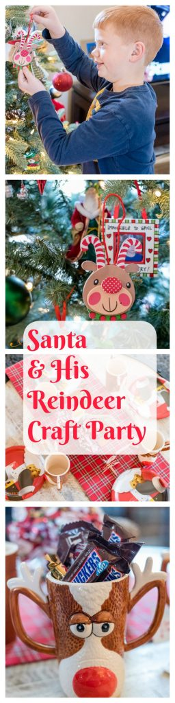 Santa and His Reindeer Craft Party