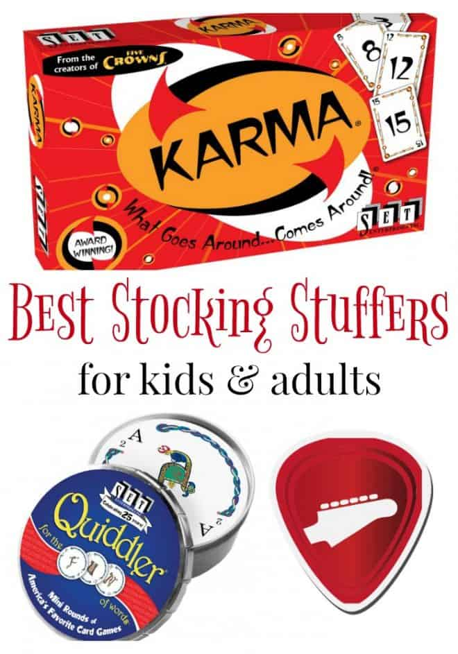 Looking for the best stocking stuffers for kids and adults? Check these out!