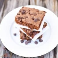 Homemade Double Chocolate Chip Brownies