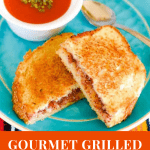 Grilled Cheese Sandwich with Strawberry Chia Spread