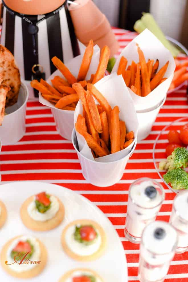 Kickoff Party - Sweet Potato Fries