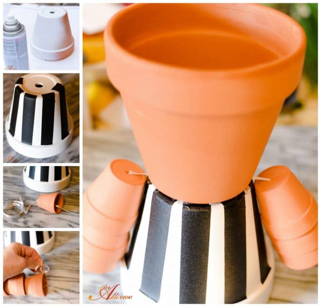 Kick-Off Party - Make a DIY Referee Centerpiece