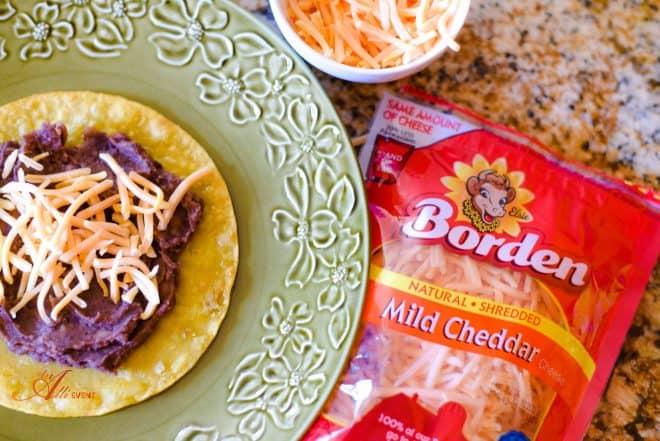 Mexican Tostadas and Chicken Enchiladas