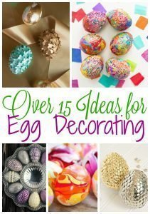 Over 15 Ideas for Egg Decorating