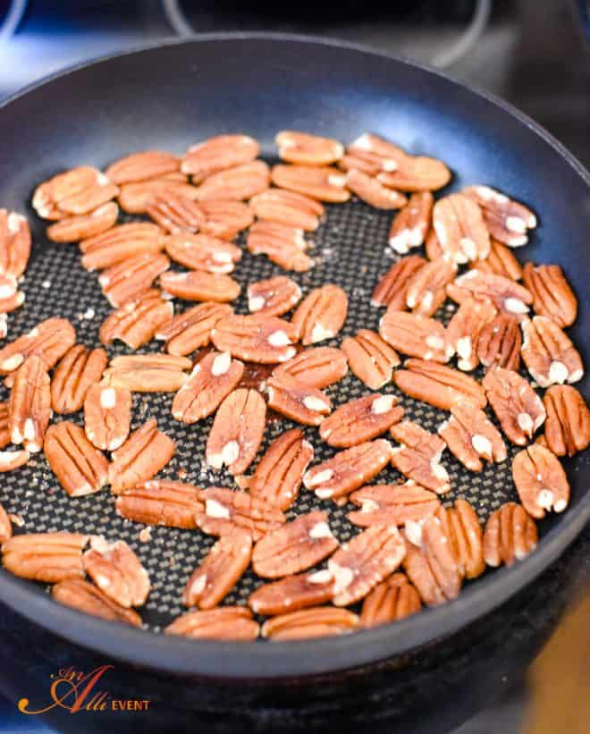 Meal Planning Tips - Toasted Pecans