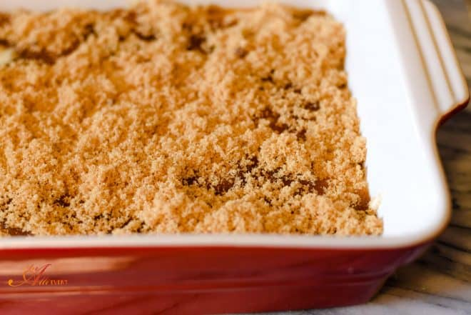 Homemade Caramel Cobbler