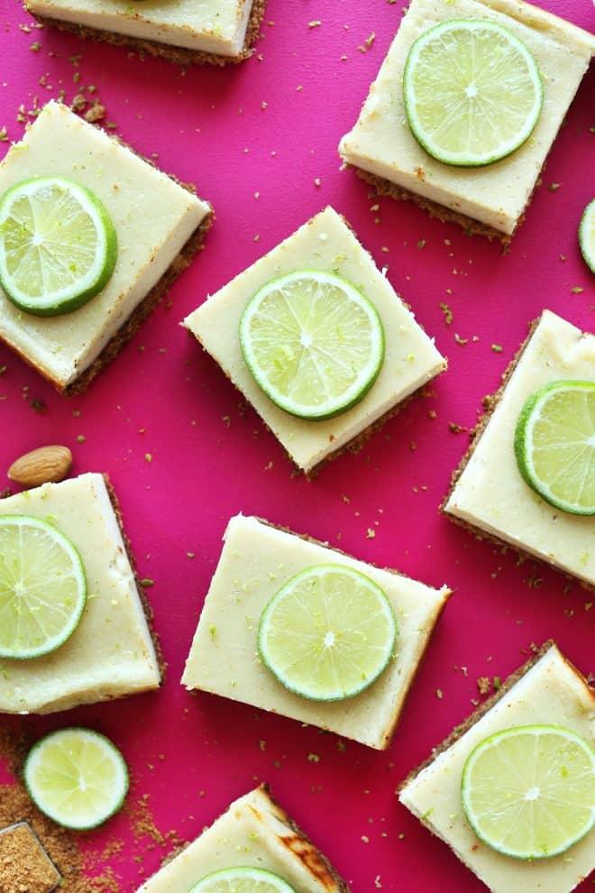 Creamy Lime Key Lime Bars