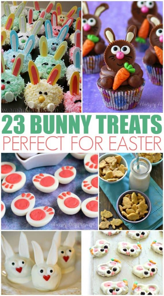 23 Bunny Treats Perfect for Easter