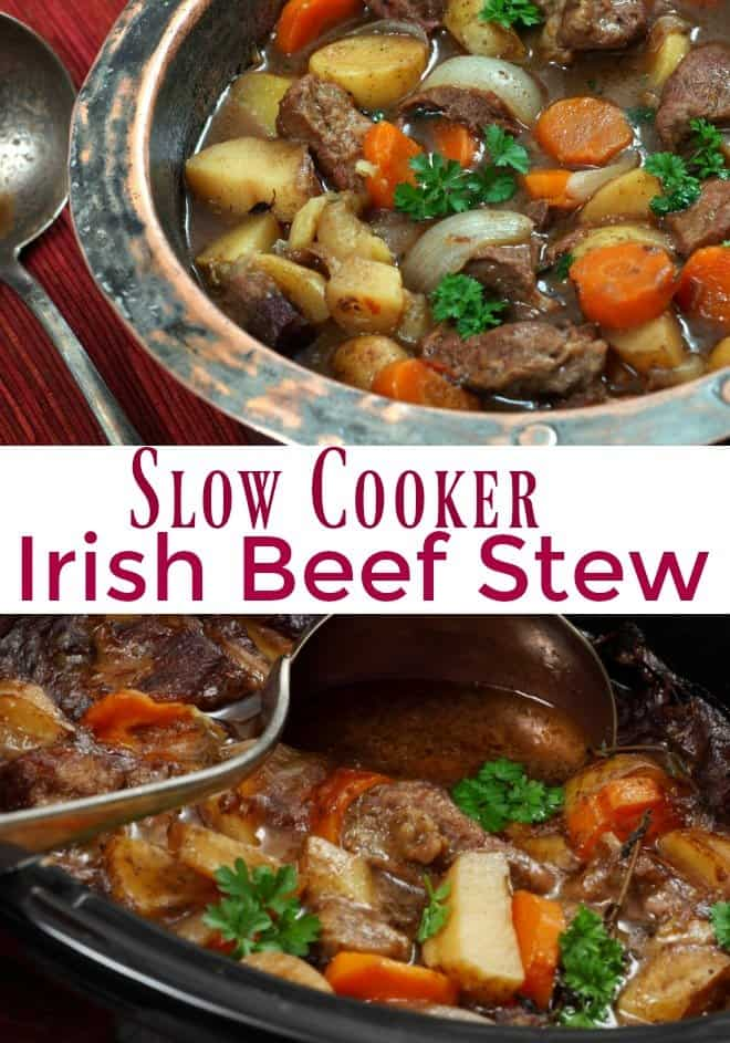 Irish Beef Stew and Saint Patrick's Day Giveaway - An Alli Event