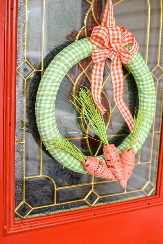 Spring Cleaning Tips - Spring Wreath