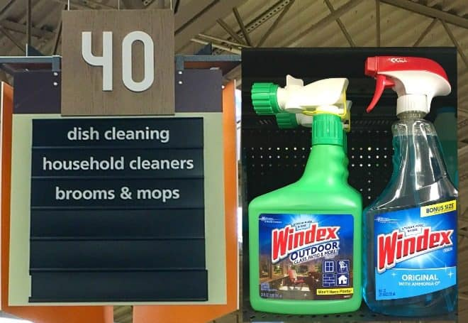 In Store Photo - Windex - Spring Cleaning Tips for Decks and Porches