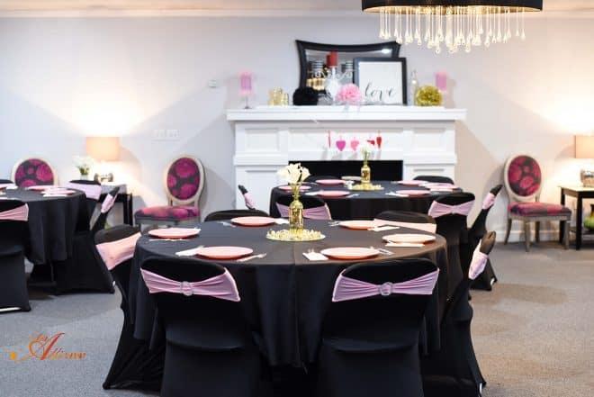 Valentine Banquet - Homemade Caramel Cobbler