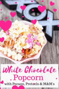 White Chocolate Covered Popcorn