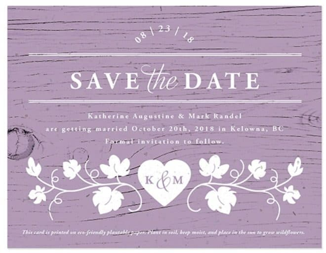 5 Unique Save The Date Ideas