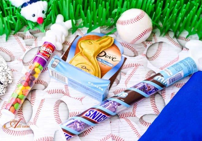 Favorite Things - Baseball Themed Easter Basket