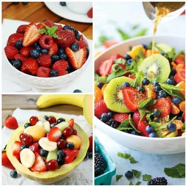 Tropical Cheesecake Fruit Salad - Fruit Salads You Will Love For Summertime