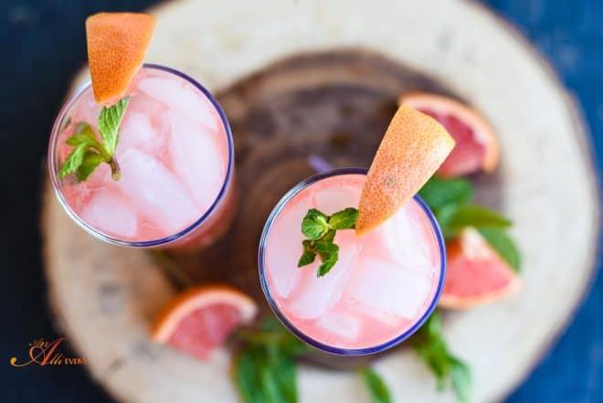 Pink Grapefruit Mojito
