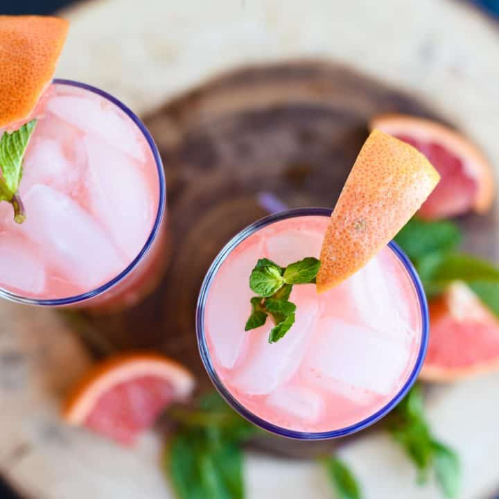 Virgin Pink Grapefruit Mojito