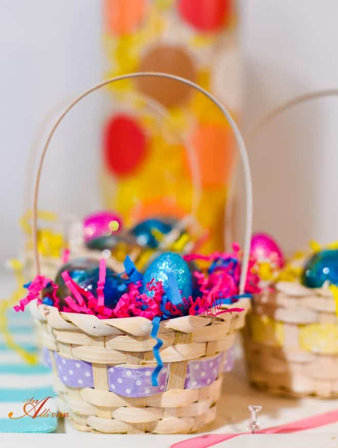Easter Baskets - Whimsical Ester Mantel