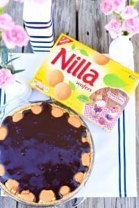 Chocolate Eclair Pie and 5-Minute Spring Centerpiece