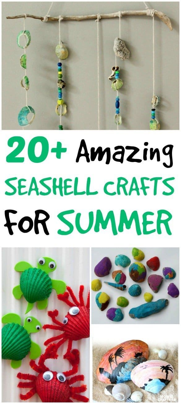 Amazing Seashell Crafts